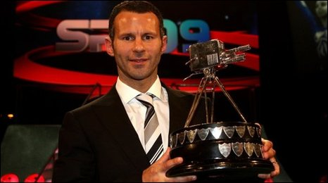 Ryan Giggs - Sports Personality of the Year 2009