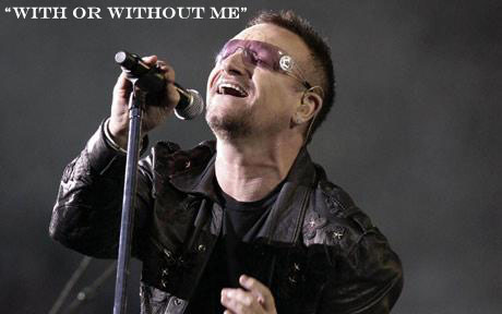 Bono Hurt His Back