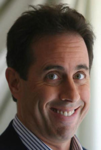 Comedian Jerry Seinfeld looks like a horse.  Horse face.  Horse-face.  Horse expression.