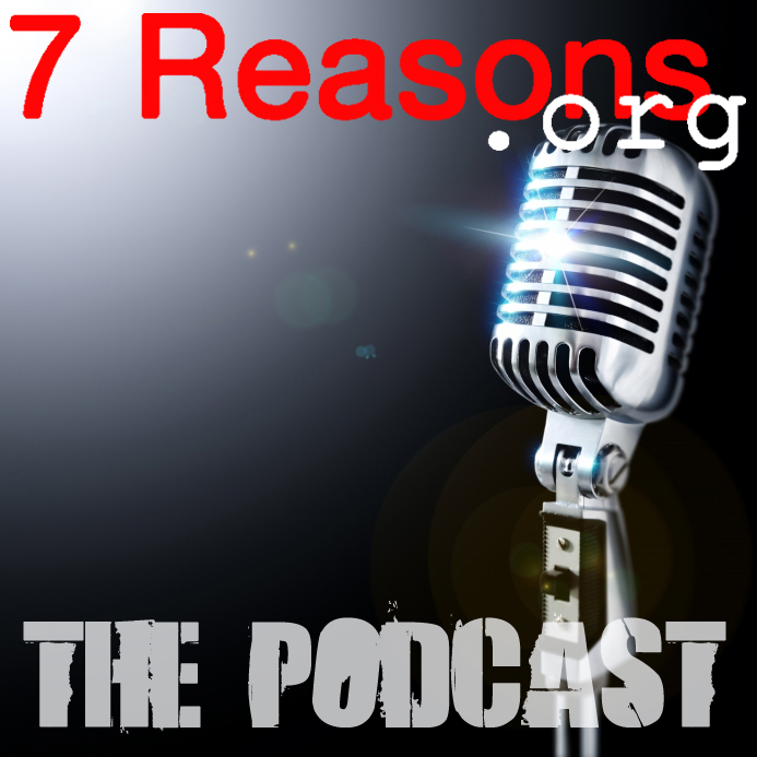 The logo for the 7Reasons.org podcast