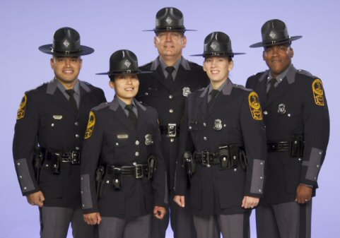Some members of the Virginia State Police