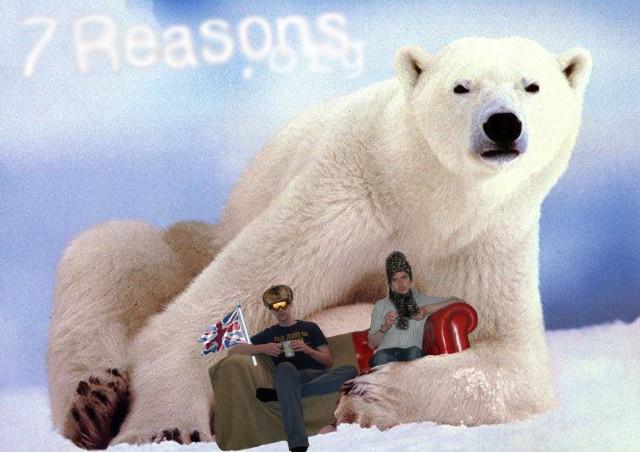 Polar Bear On A Date